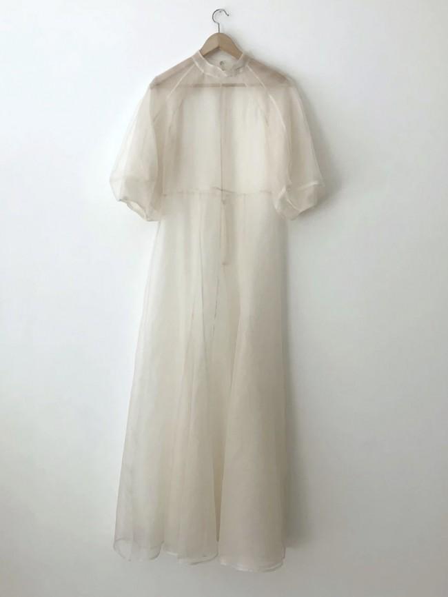 Kamperett Meiere Silk Organza Gown
