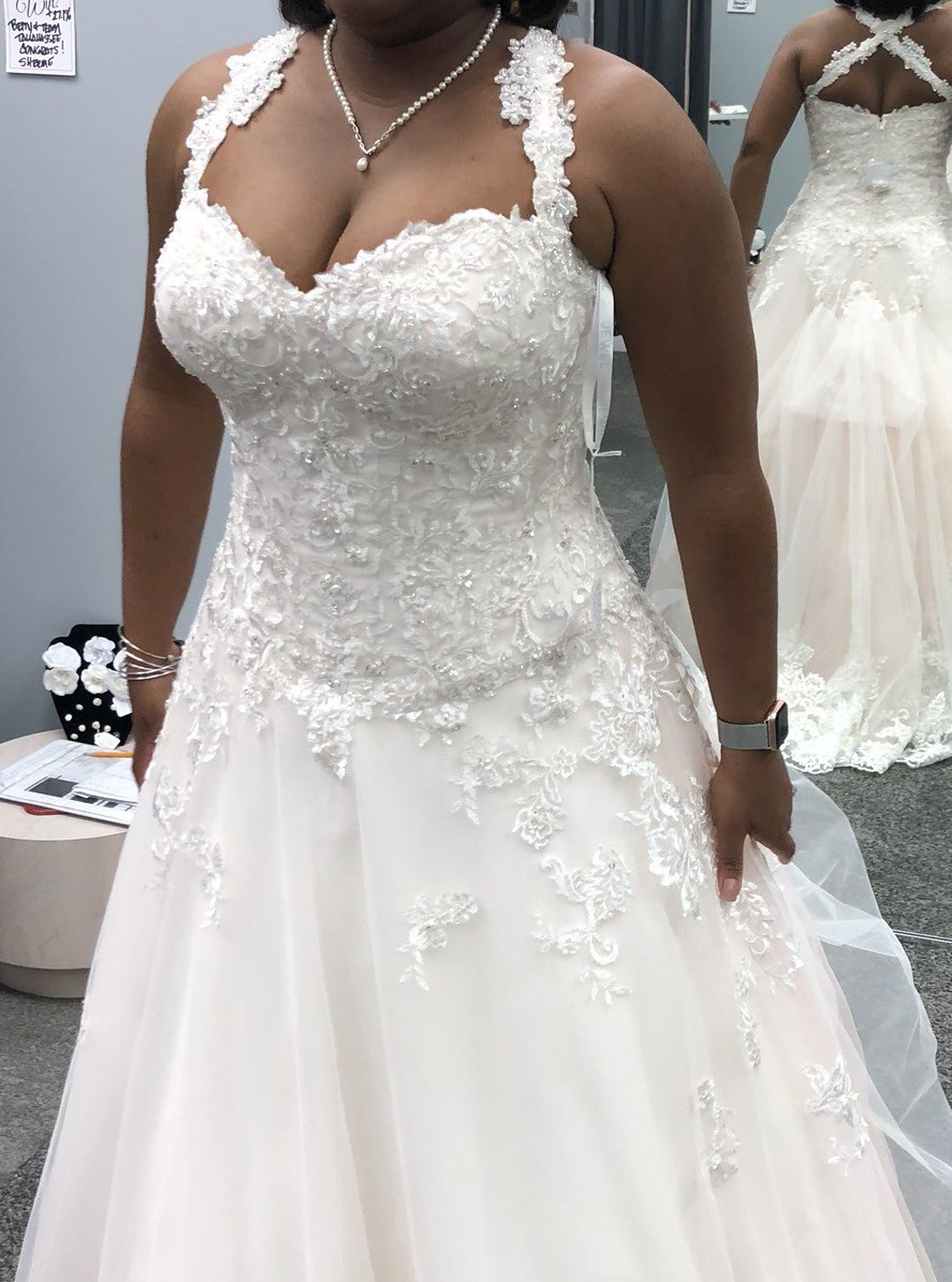 Jewel Beaded Lace And Tulle Ball Gown Wedding Dress Used Wedding Dress Save 43 Stillwhite,Dress To Wear To A Wedding In November
