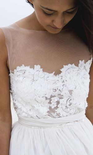 Grace Loves Lace, Loren White – S , White, Soft tulle