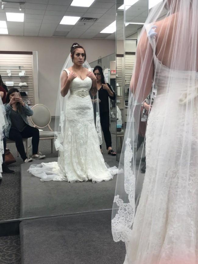 78e733117a95 Oleg Cassini Mermaid Wedding Dress - Wedding Dress & Decore Ideas