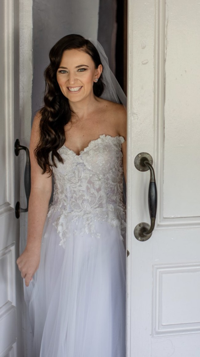 Sasha Belle Bridal Custom made