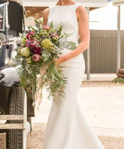 One Day Bridal Chosen Cape with Broome Skirt