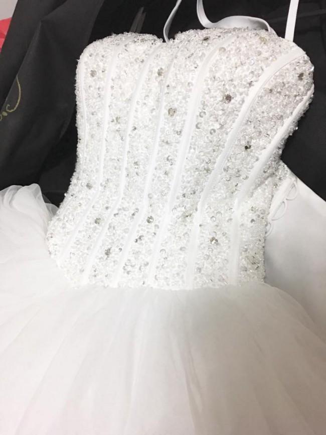 Le Chateau Blanc Couture Custom Made