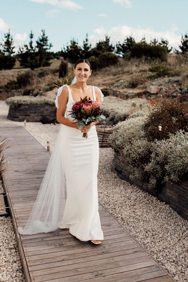 Rachel Gilbert Nola gown
