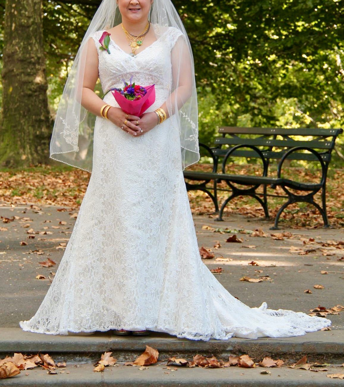 David S Bridal Wedding Gown Preservation: David's Bridal T9612 Used Wedding Dress On Sale 50% Off