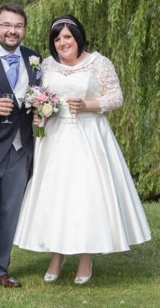 Blue Bridalwear Custom Made - Mabel and Ava Cross