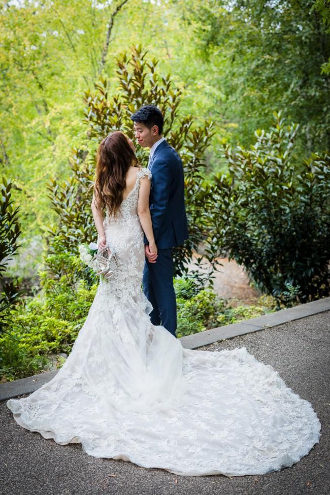 Steven Khalil, Beaded Lace custom gown