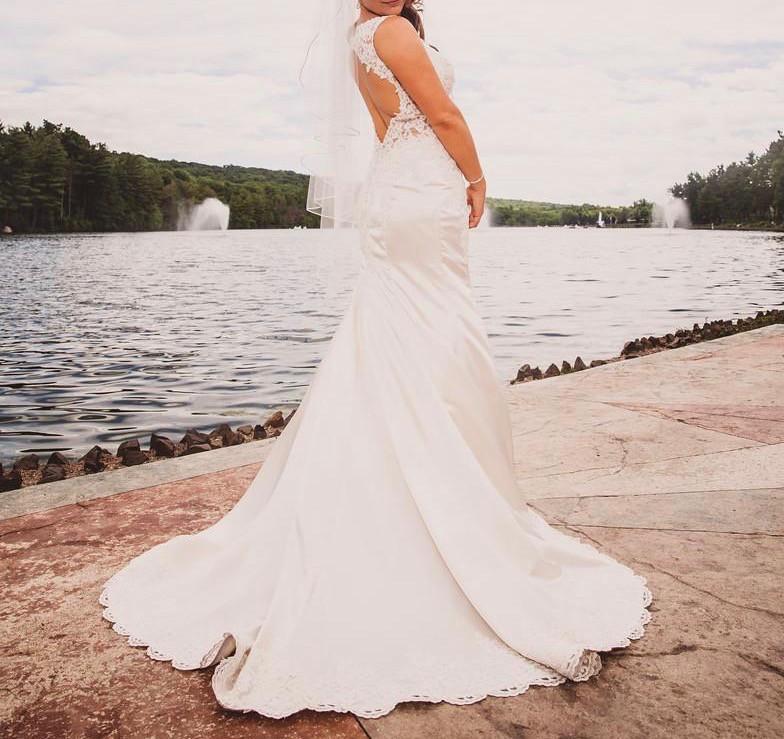 Sophia Tolli Y11629 Rexana Preowned Wedding Dress On Sale