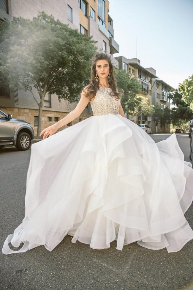 Hayley Paige Hayley Paige Dori Gown