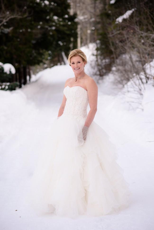 2d54e865c2266 Oleg Cassini CWG568 Used Wedding Dress on Sale - Stillwhite