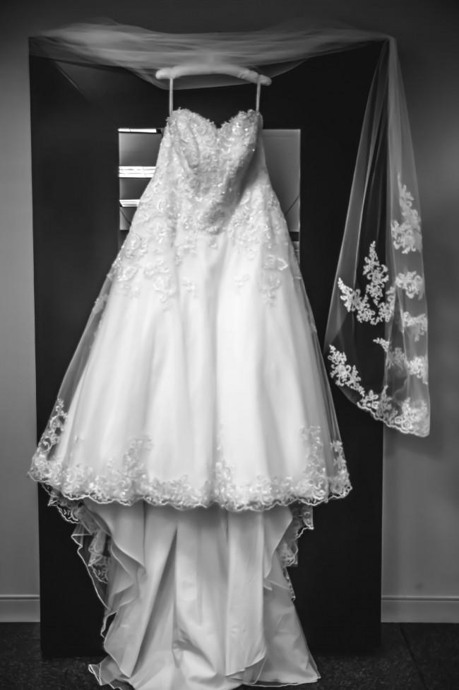 David's Bridal 9V3836