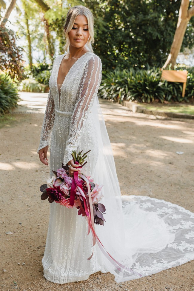 Marquise Bridal Jordan Gown with sleeves