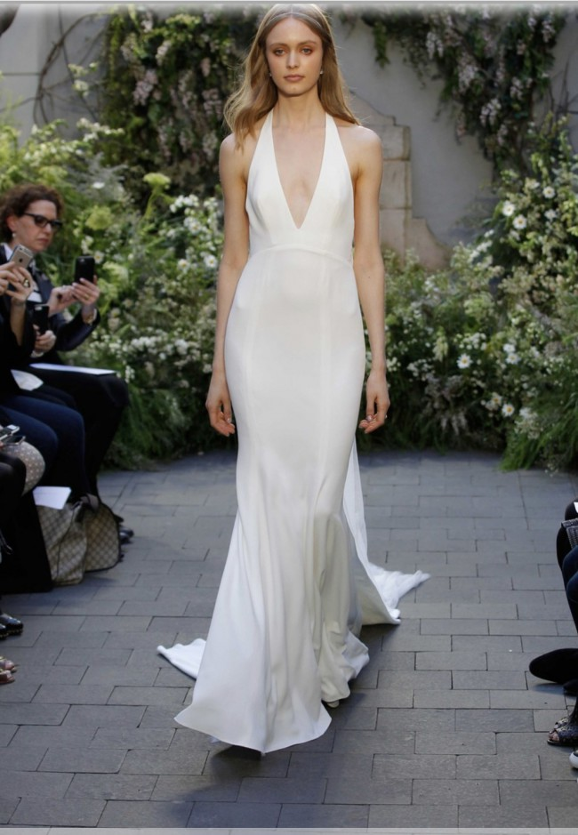 Monique Lhuillier Authentic wedding dress