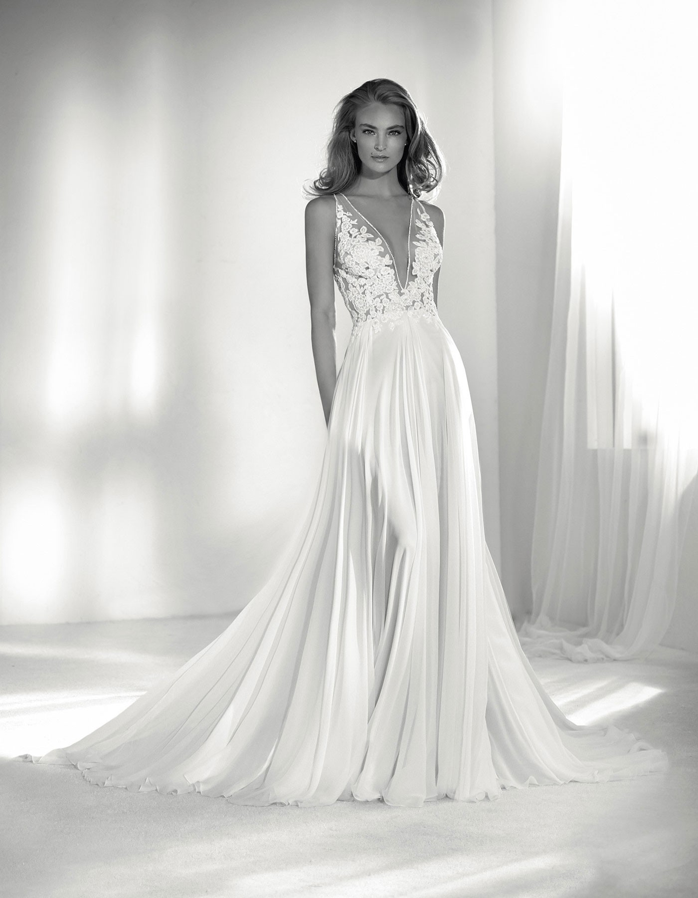 Pronovias 2020 Collection Erandi Wedding Dress