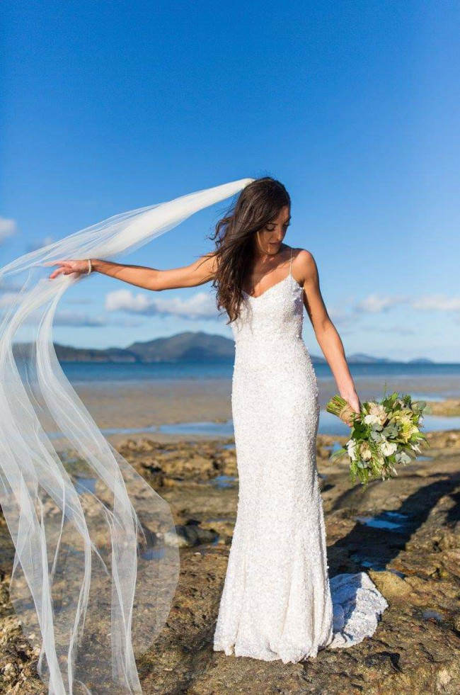 Karen Willis Holmes Anya Gown + Veil