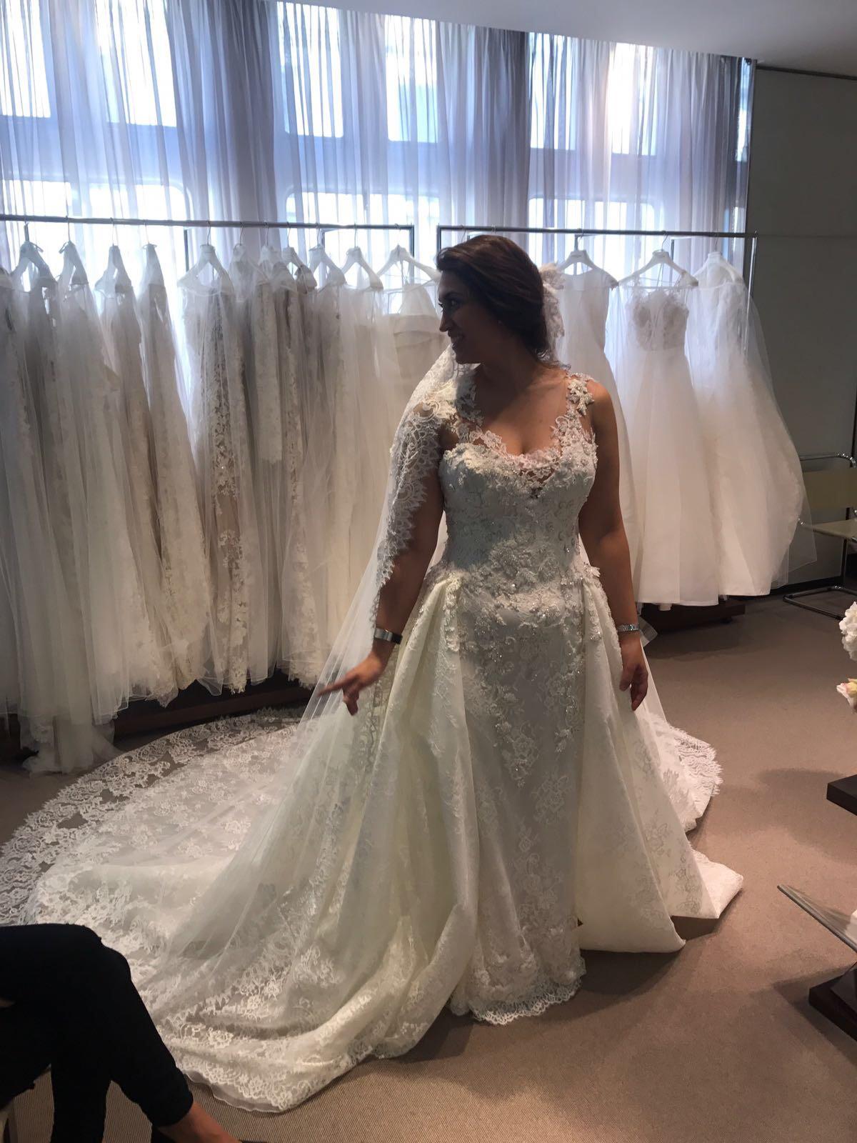Pronovias Atelier Pronovias Novella Wedding Dress On Sale 40 Off
