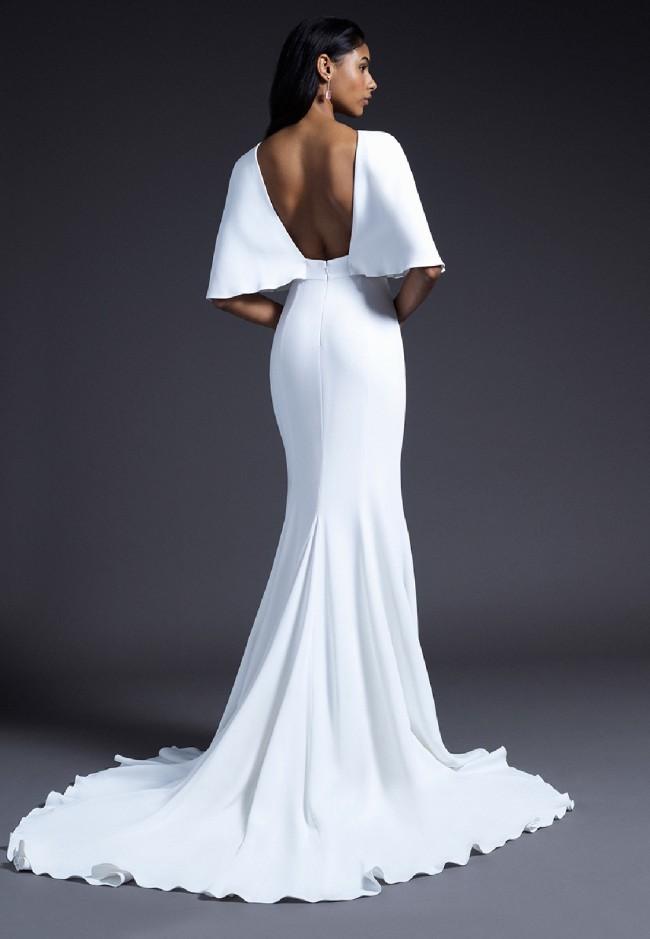 Cushnie, Cape Crepe Gown