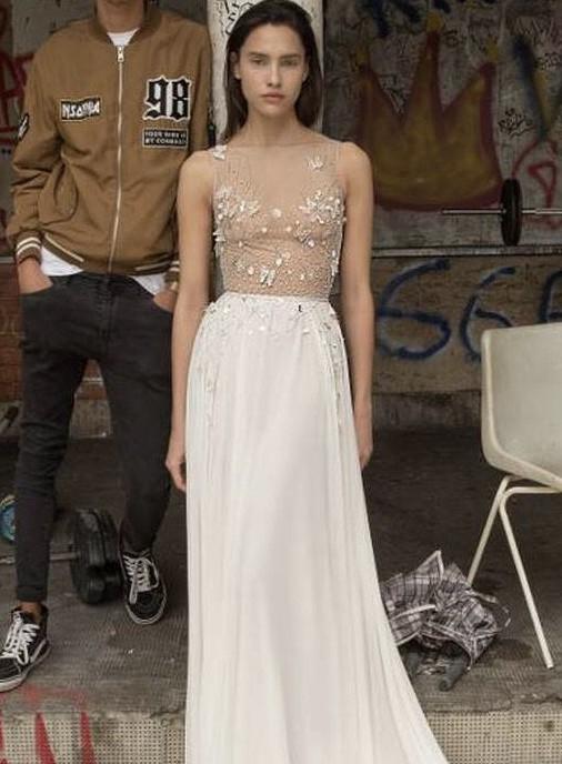 Liz Martinez Rose dress, Lisbon (2018) collection