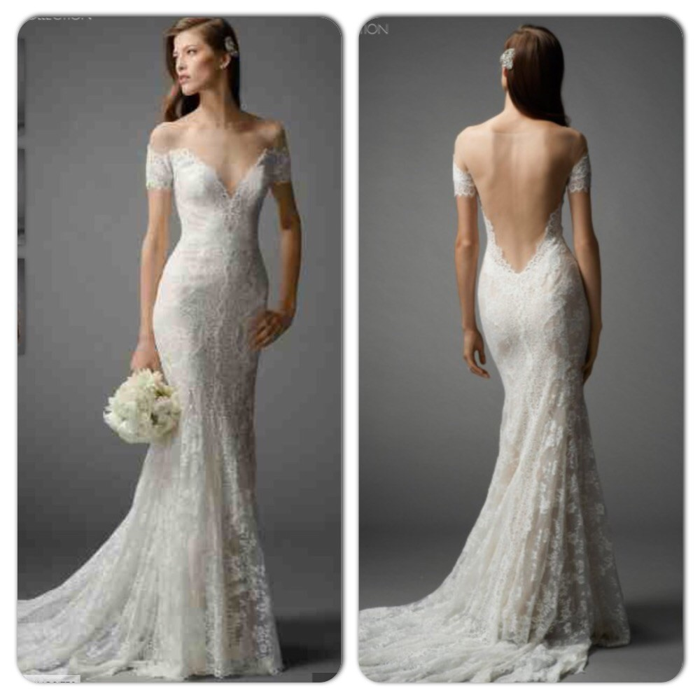 Second Hand Wedding Dresses: Watters Mila Second Hand Wedding Dress On Sale 55% Off