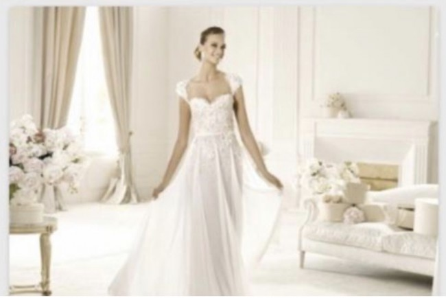 Elie Saab Galant Couture Gown from Pronovias w Veil Designed