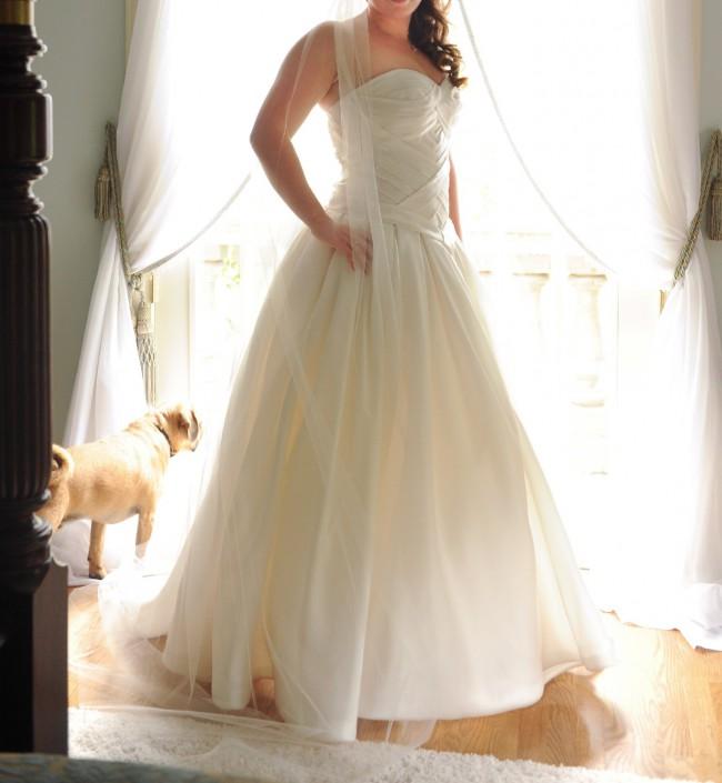 d5a5d9c87fe8 Pnina Tornai Custom Made Preloved Wedding Dress on Sale 68% Off ...