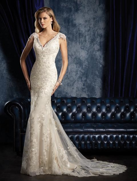 Alfred Angelo Sapphire Collection 956