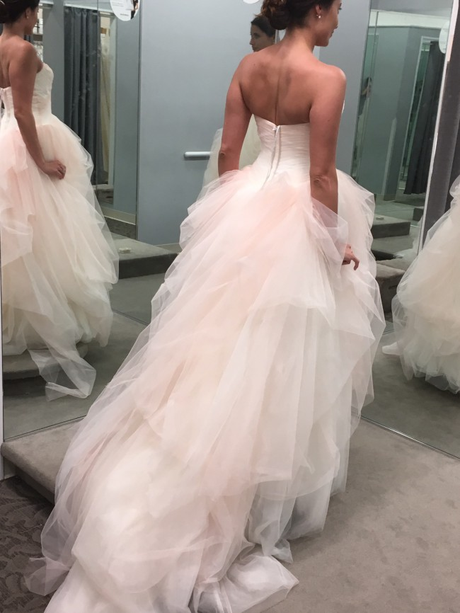 Vera Wang White by Vera Wang Ombre Tulle Wedding Dress VW351Vera Wang White by Vera Wang Ombre Tulle Wedding Dress VW351