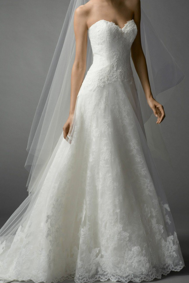 Watters Style #FARRINXS ROMANTIC A-LINE WEDDING DRESS