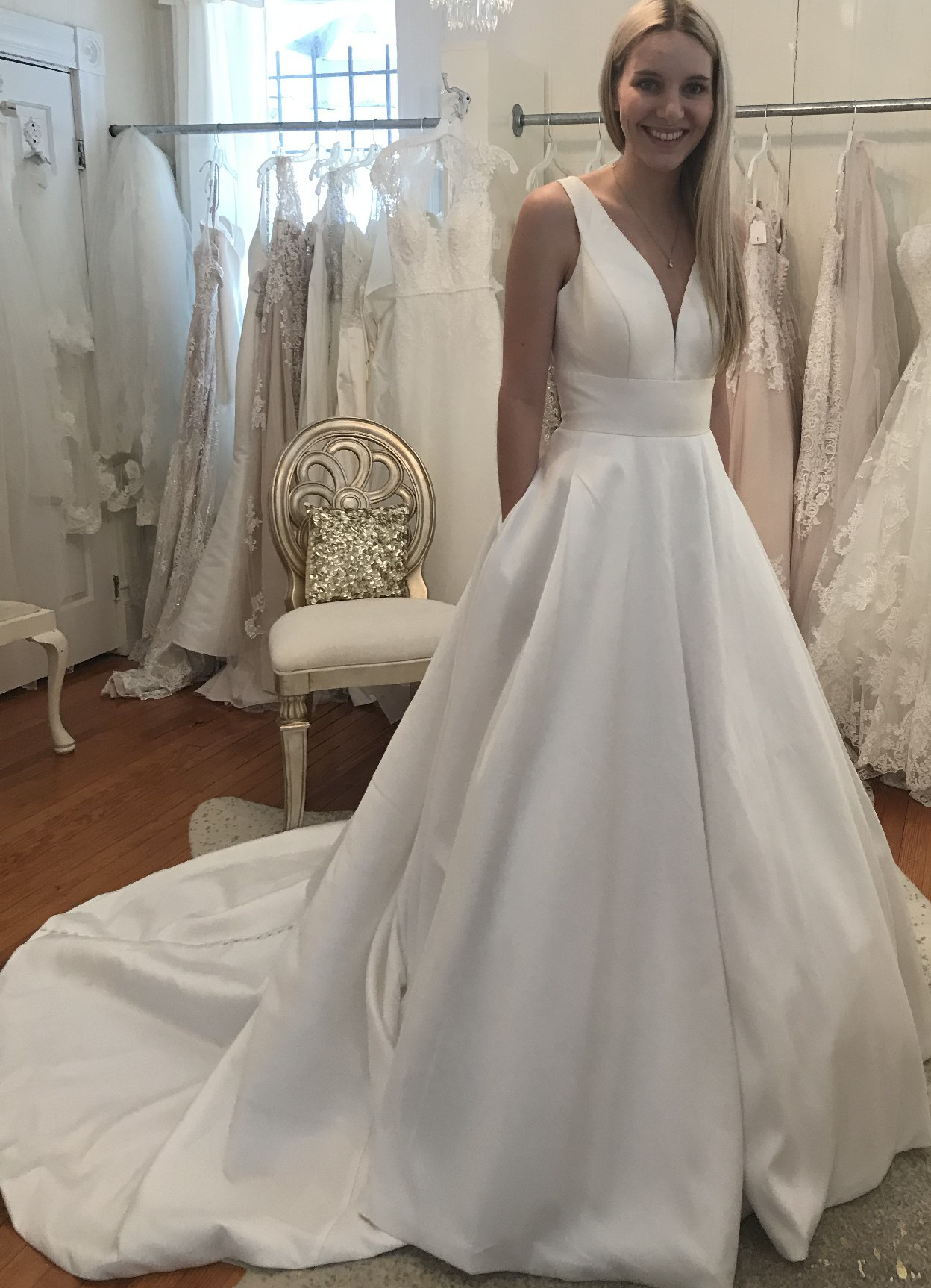 Simple Sophisticated Wedding Dress   Stella York Wedding Gowns