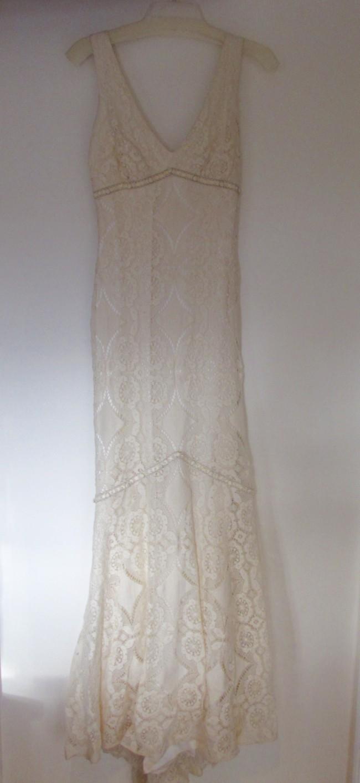 228604f1219 Claire Pettibone Madeleine New Wedding Dress on Sale 30% Off ...