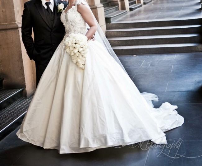 Steven Khalil Ball gown