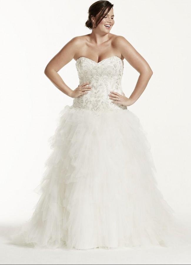 David's Bridal Collection 9V3665