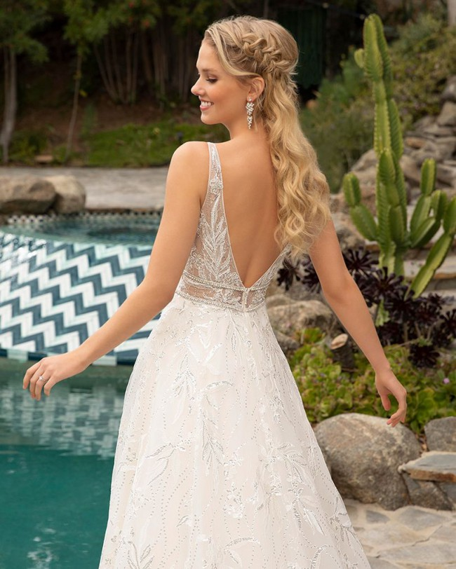 Beloved By Casablanca Bridal BL301 Tenley
