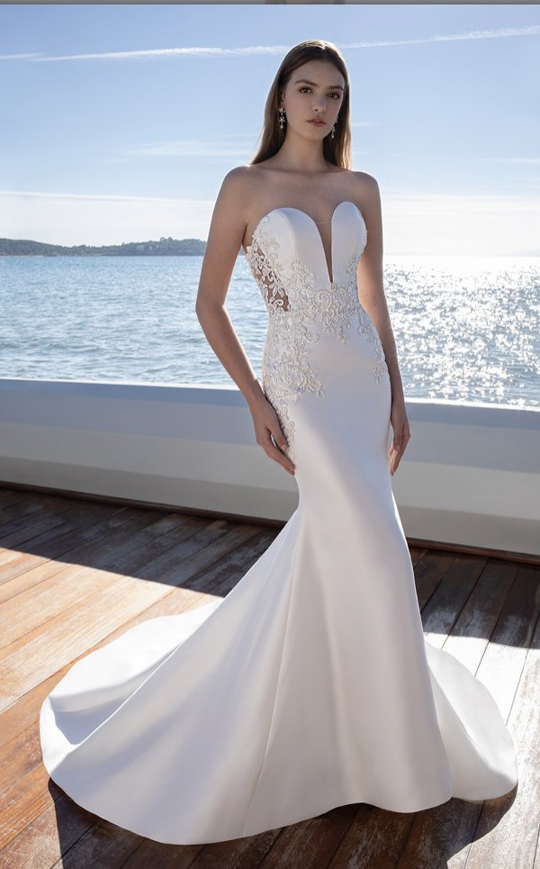 Demetrios, 2020 Cosmobella Dress:7990 Detachable train:1045