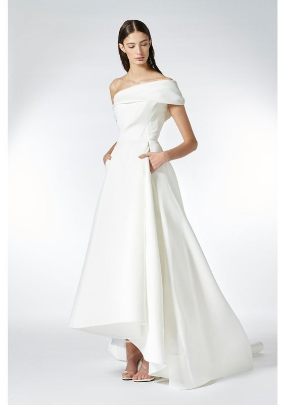 Toni Maticevski Forever One Shoulder Gown | Maticevski Bridal