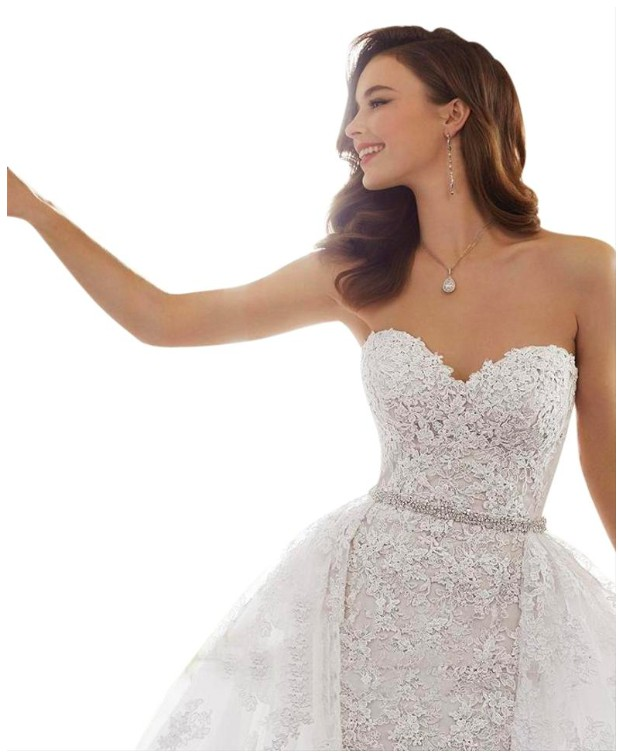 Sophia Tolli French Beige Lace Y11652 Maeve