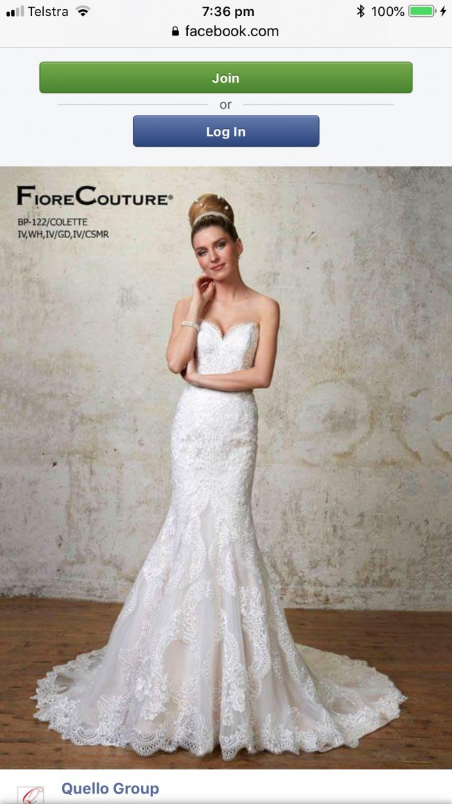 Fiore Couture Colette Sample Wedding Dress On Sale 77 Off