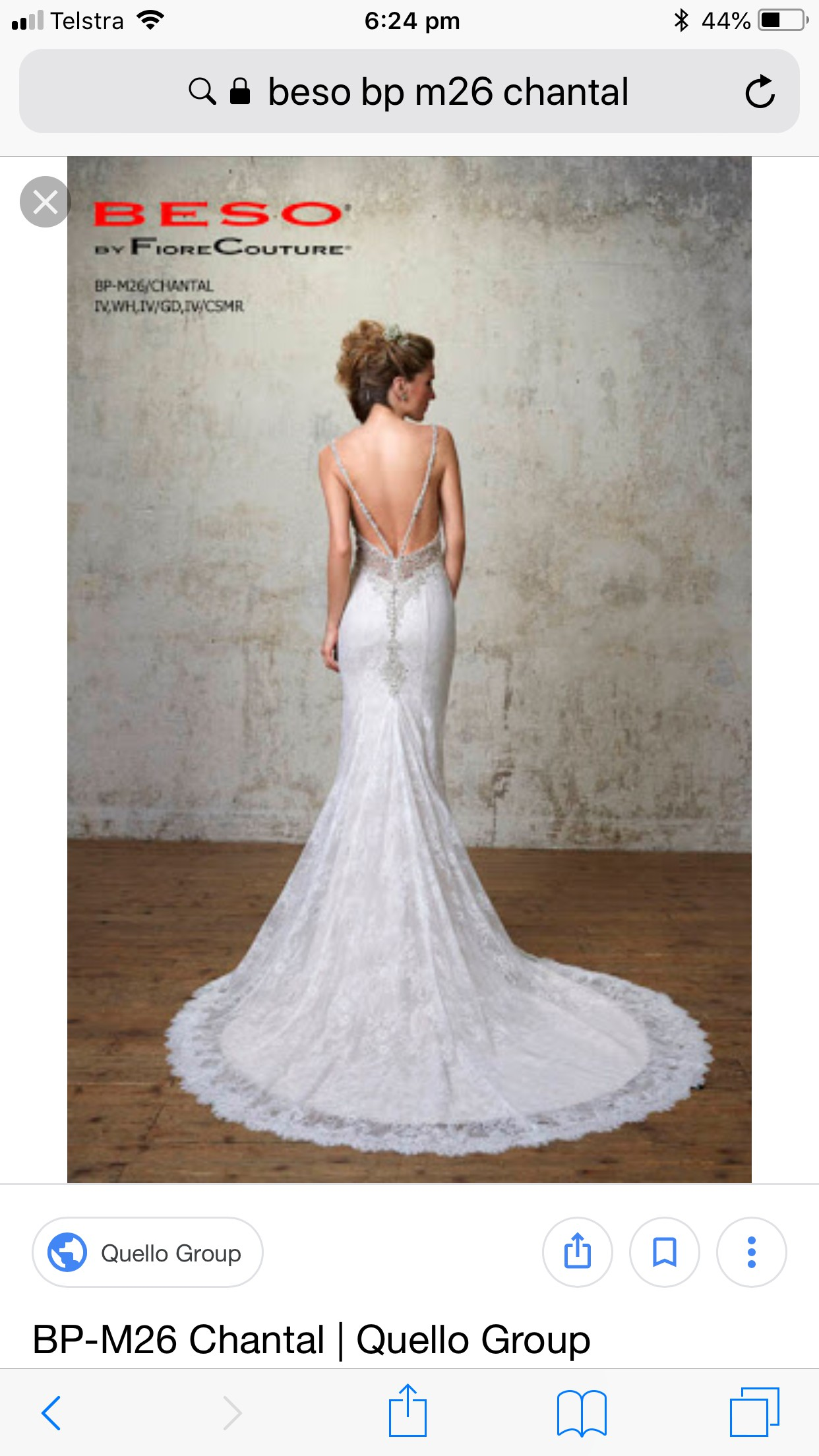 Fiore Couture Chantal Sample Wedding Dress On Sale 80 Off