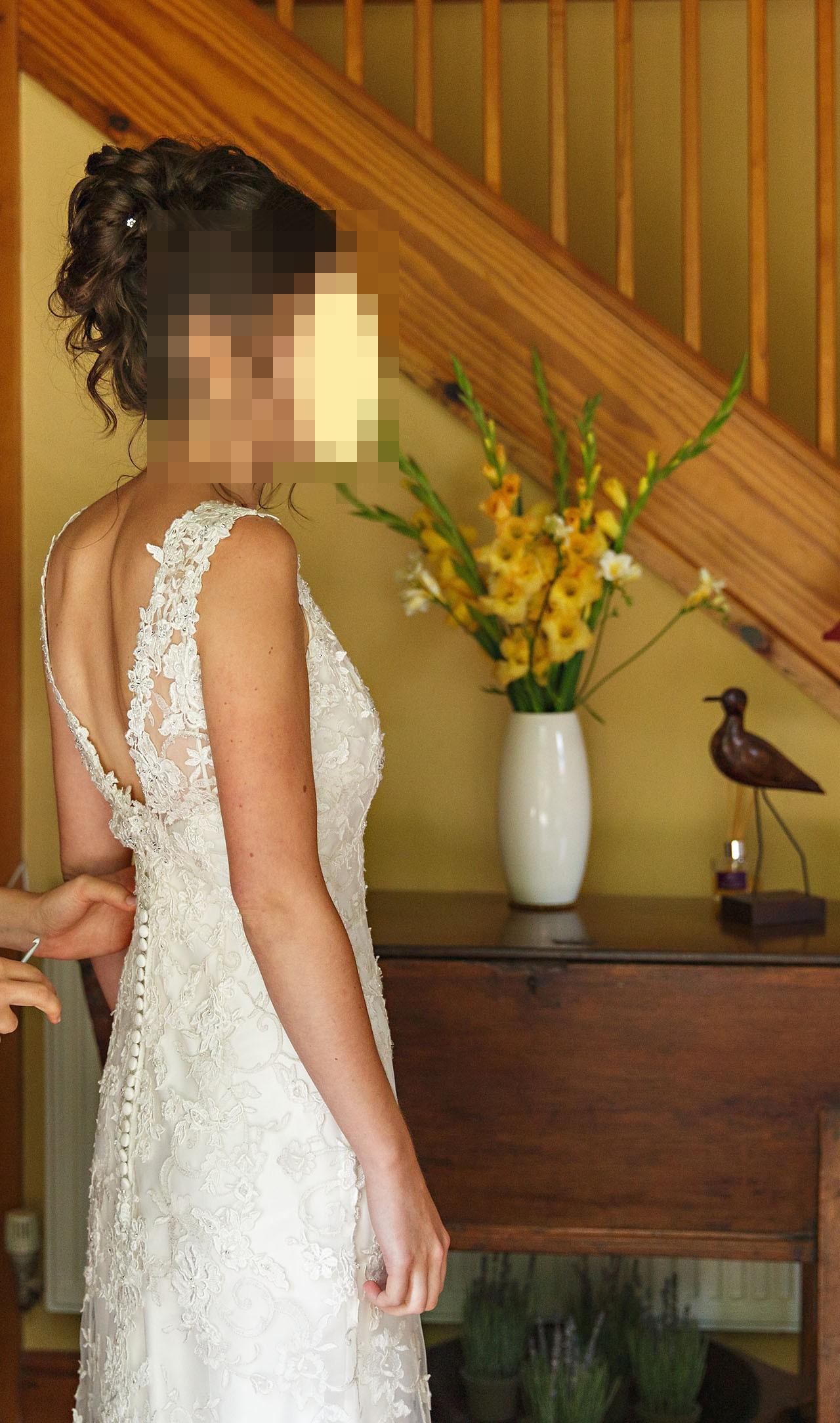 Kenneth Winston Ella Rosa Be233 Used Wedding Dress On Sale 67 Off