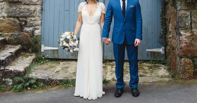 Vintage Wedding Dresses Jenny Packham: Jenny Packham Aspen Vintage Used Wedding Dress On Sale 75
