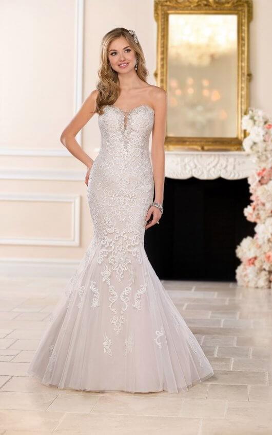 f4304eb3bd Stella York 6502 New Wedding Dress on Sale 56% Off - Stillwhite