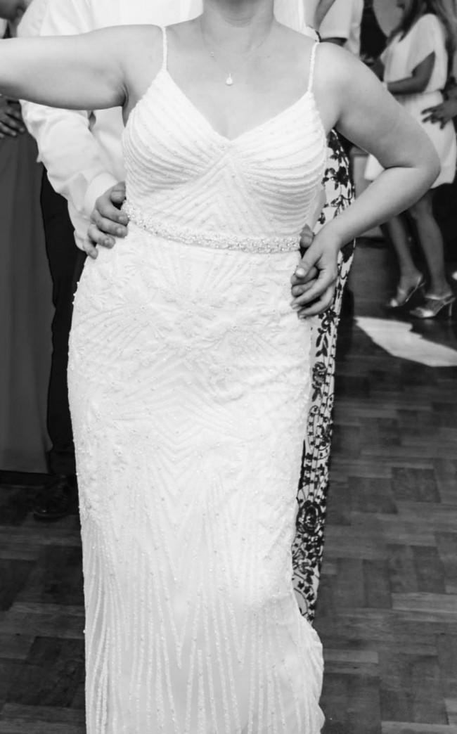 Rachel Gilbert, Celina Bridal Gown - Ivory