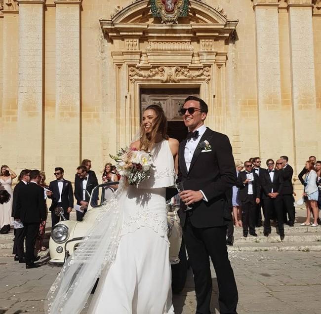 Bo & Luca, Allegra Gown & Everly Veil