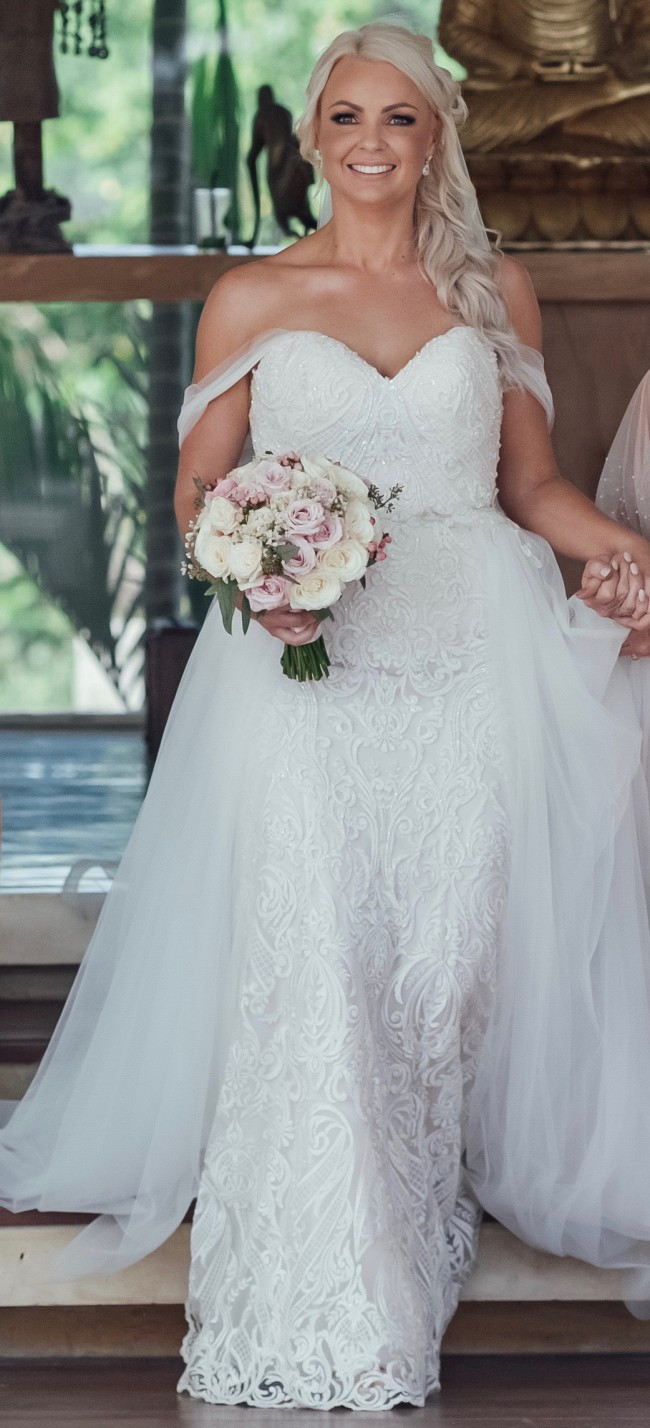 Sottero and Midgley, Hadley with attachment skirt