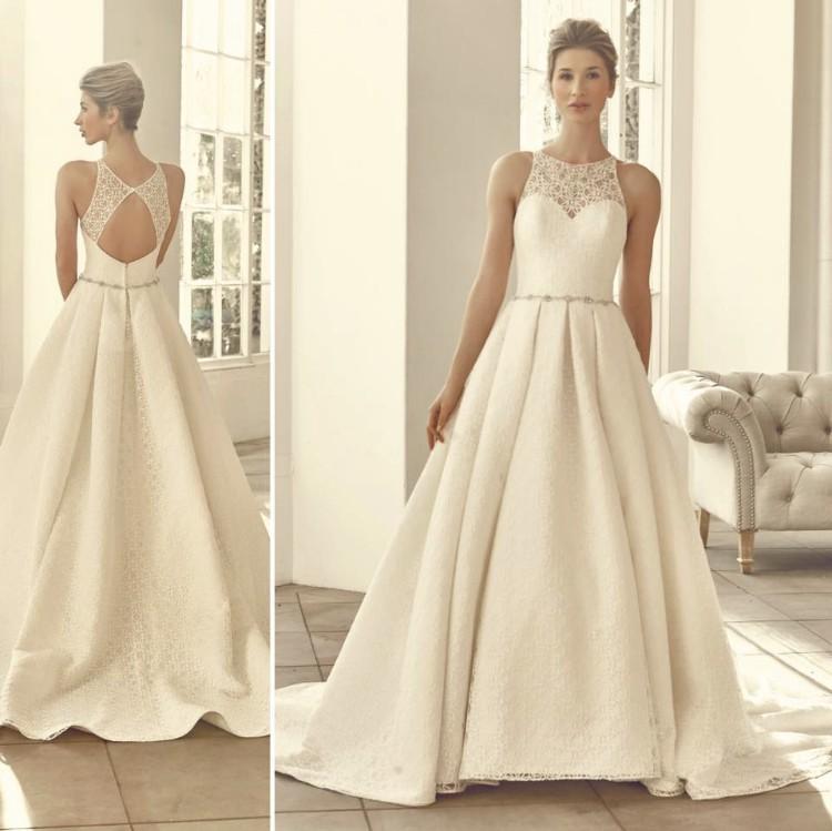 Benjamin Roberts 2720 Preowned Wedding Dress On Sale 60