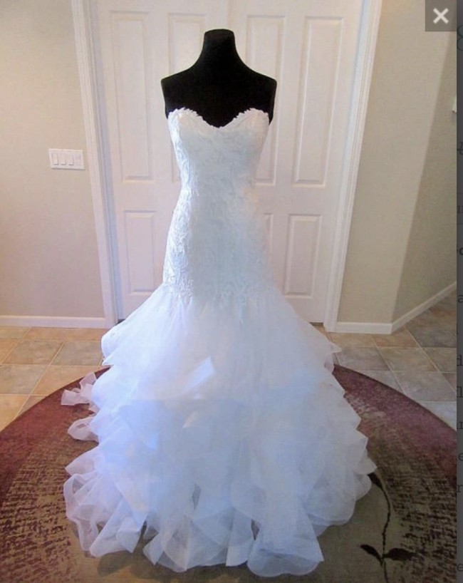 Justin Alexander, Bridal Gown Style 8795