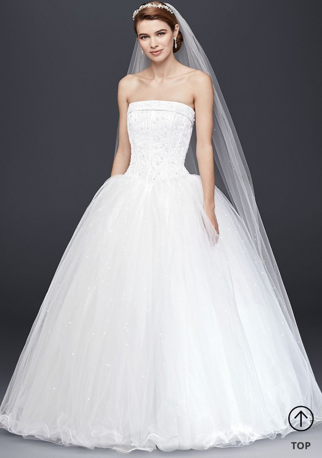 David's Bridal, NT8017