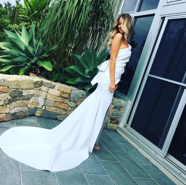 Cappellazzo Couture Custom Made Second Hand Wedding Dress