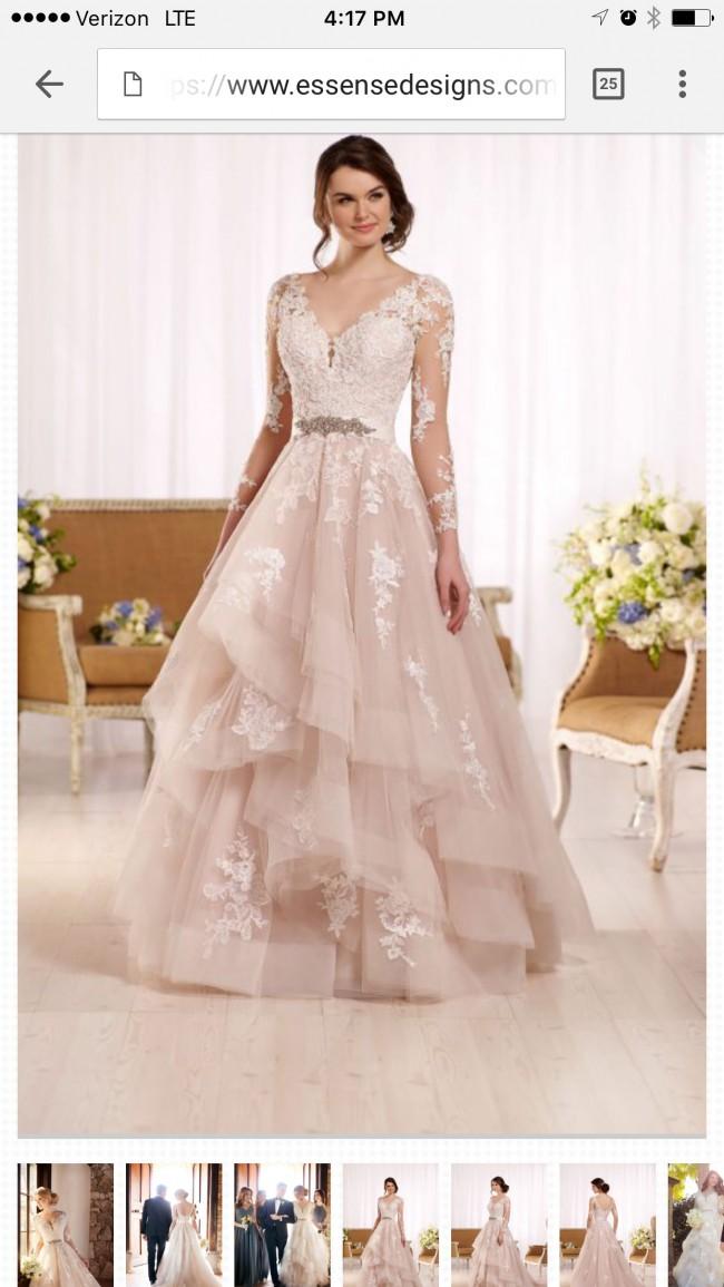 Essense of Australia Essence D2186 New Wedding Dress on Sale 29