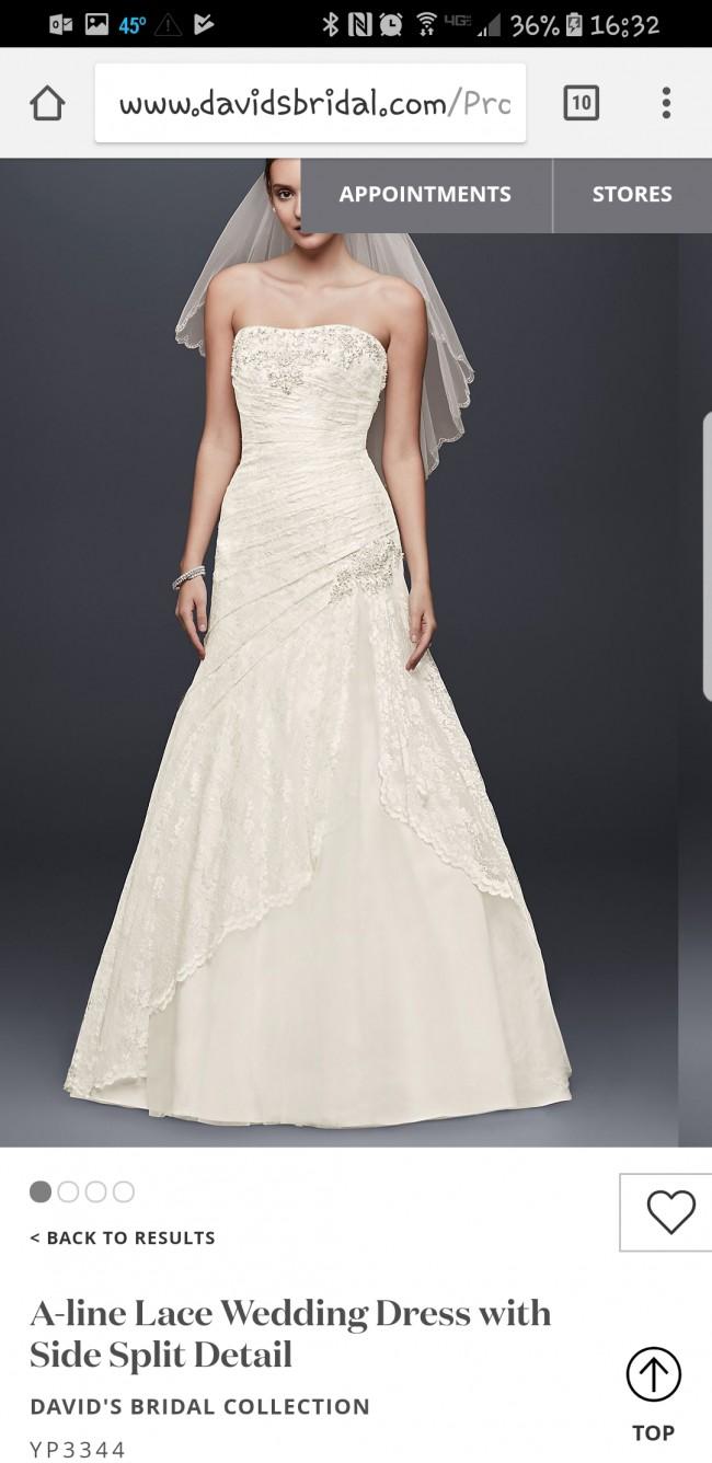 David's Bridal Collection 9YP3344